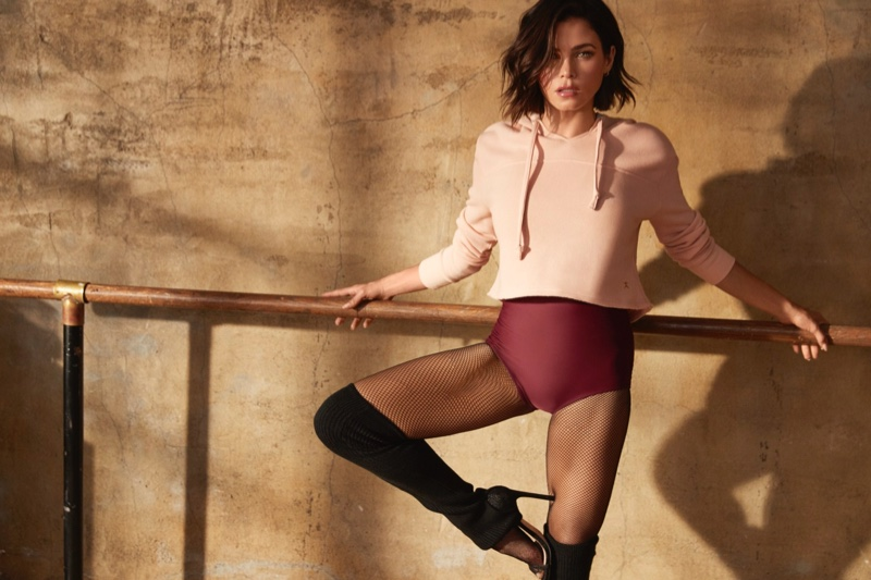 Photographed by David Roemer, the Jenna Dewan x Danskin campaign gets revealed