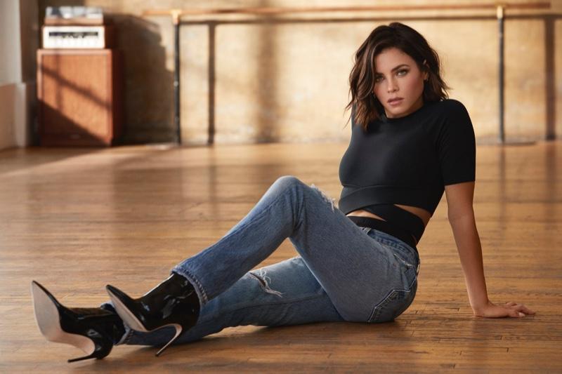 Actress Jenna Dewan rocks denim in latest Danskin campaign