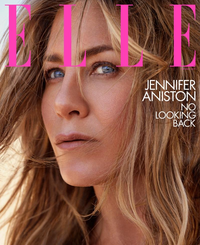 Jennifer Aniston on ELLE US January 2019 Cover
