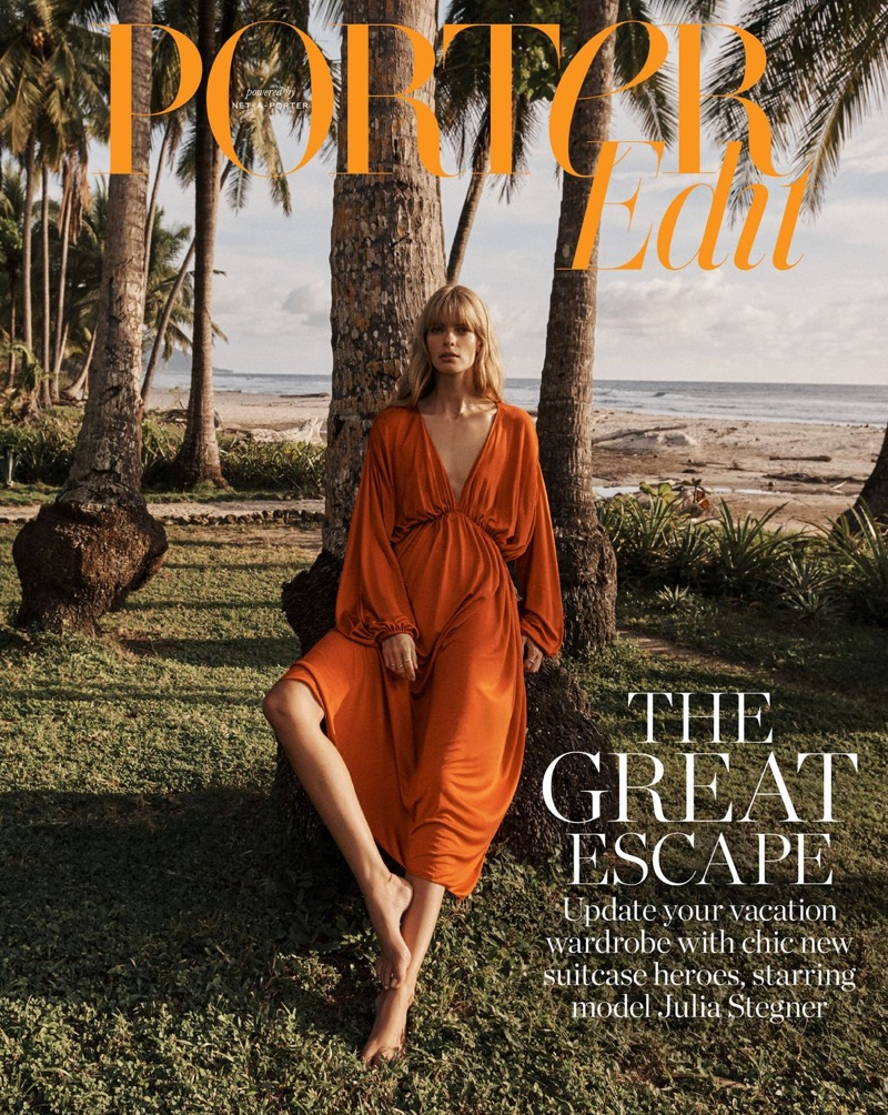 Julia Stegner on PORTER Edit December 21st, 2018 Cover