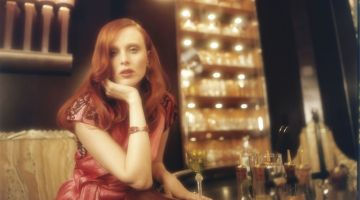 Karen Elson Exudes Pure Elegance for ES Magazine