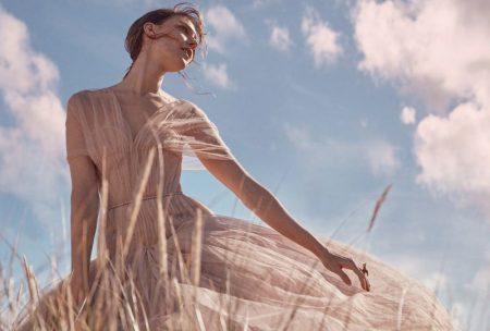 Kati Nescher is an Absolute Vision for Harper's Bazaar UK