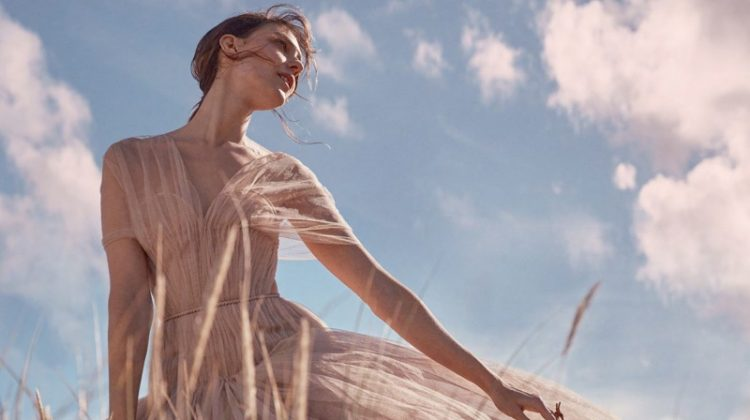 Kati Nescher is an Absolute Vision for Harper's Bazaar UK