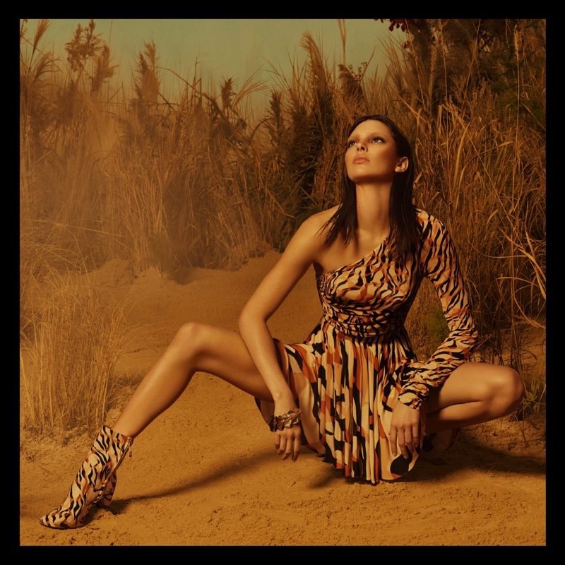 Kendall Jenner stars in Roberto Cavalli spring-summer 2019 campaign