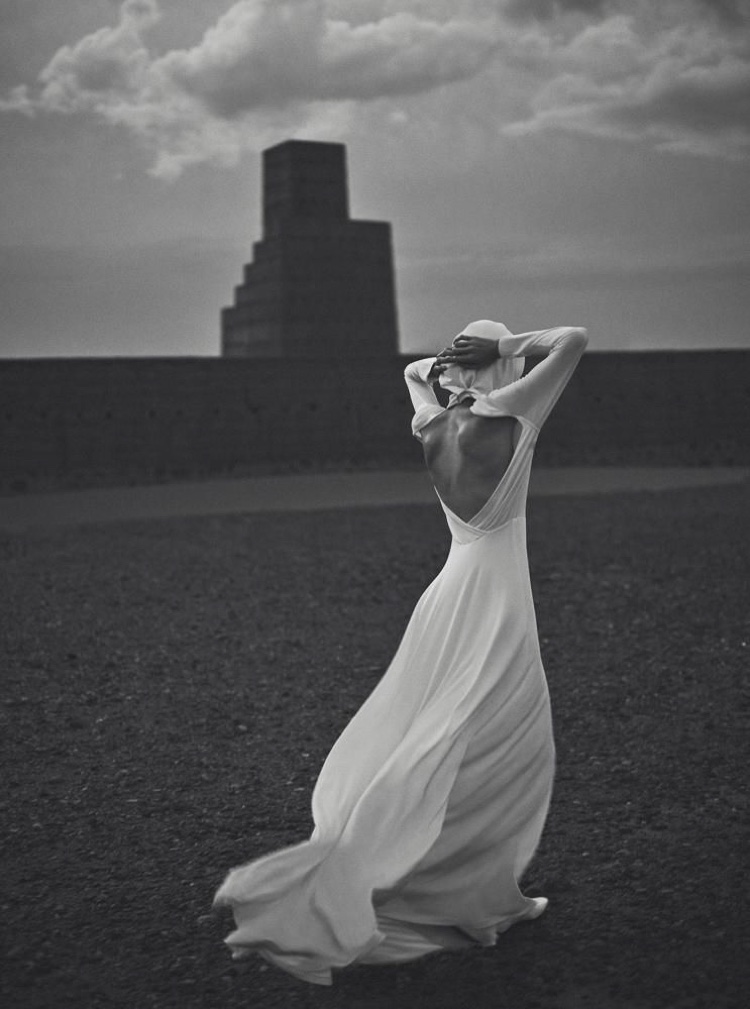 Kiki Willems Models Couture in Morocco for WSJ. Magazine