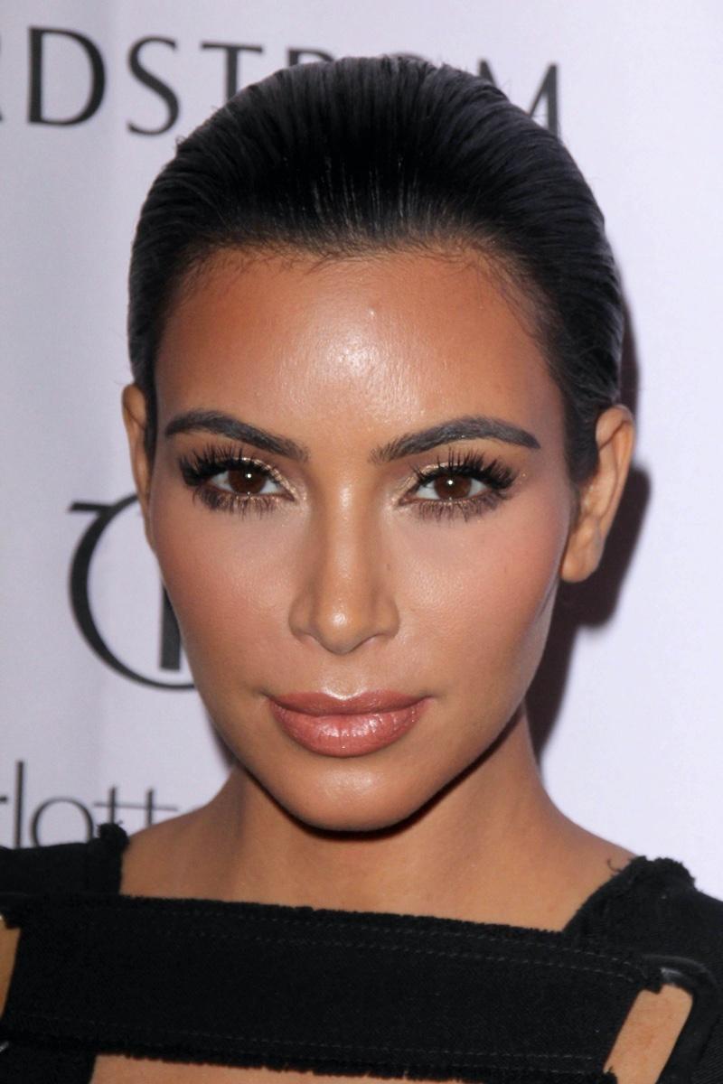 Kim Kardashian Brown Eyes
