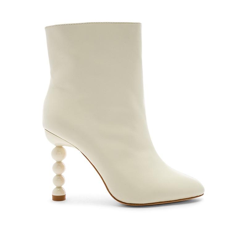 LPA Agsen Bootie in White $248