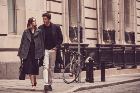 Laura Love Wears Sleek Outerwear in London Fog Fall '18 Campaign