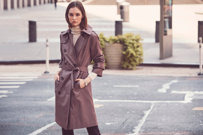 London Fog features chic outerwear in fall-winter 2018 campaign