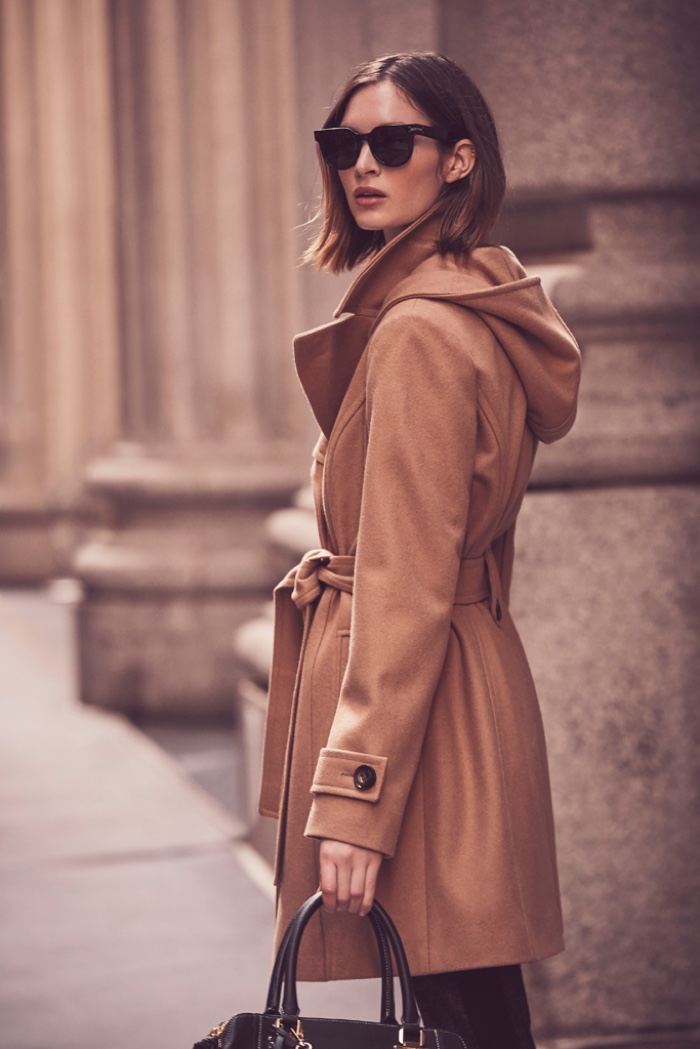 A neutral color palette stands out in London Fog fall-winter 2018 campaign