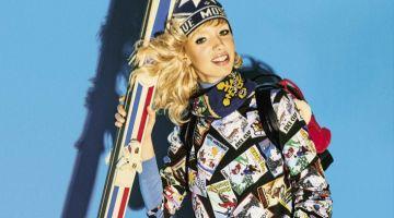 Jessie Bloemendaal stars in LOVE Moschino fall-winter 2018 campaign