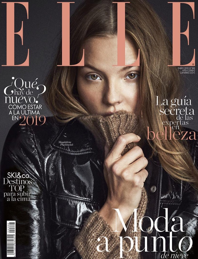 Magdalena Frackowiak Poses in Cool Looks for ELLE Spain