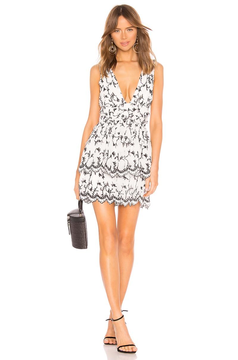 Majorelle Dora Mini Dress $198