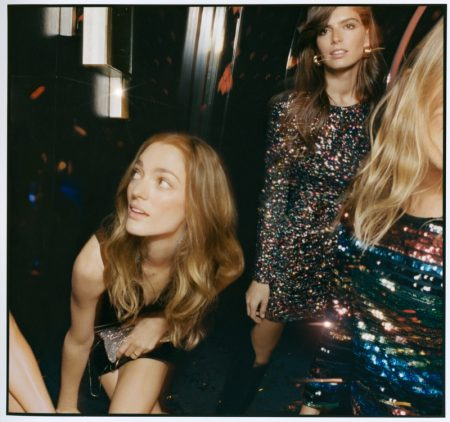 Mango Girls Get Ready to Disco in Glittery Party Styles