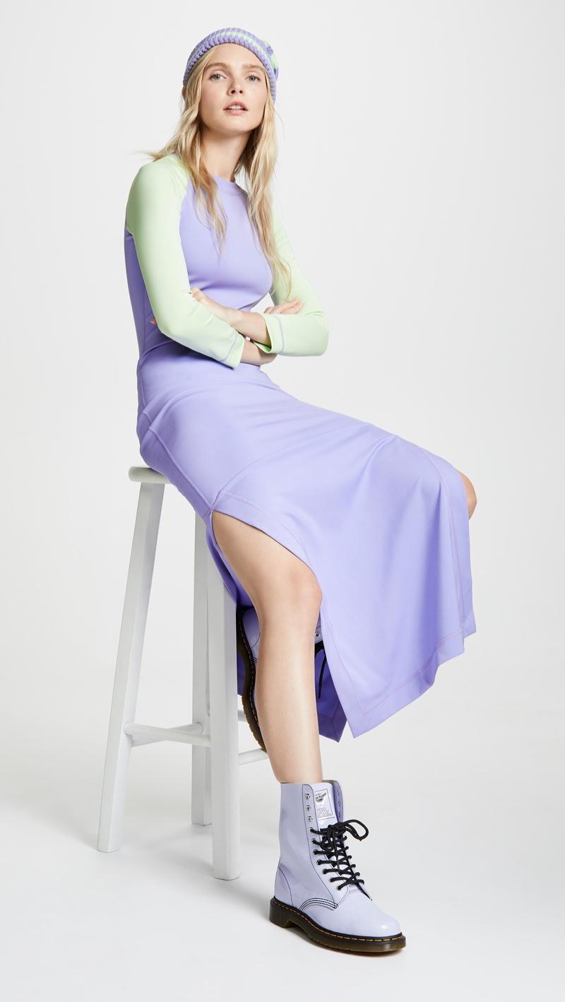 Marc Jacobs Redux Grunge Colorblock Dress $350