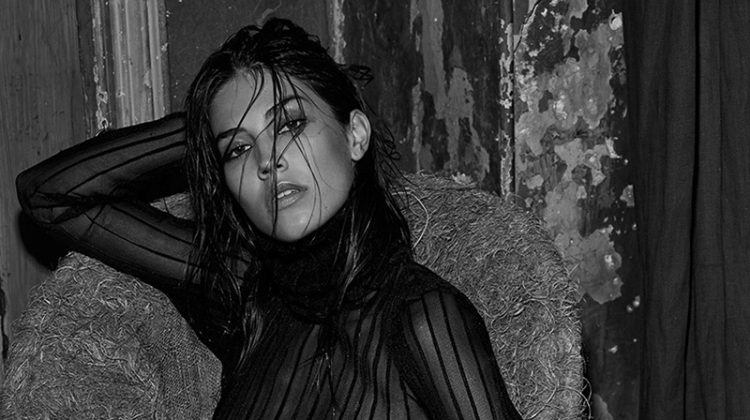 Marilhéa Peillard Looks Smokin' Hot in Lui Magazine
