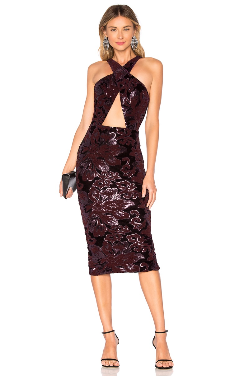 Michael Costello x REVOLVE Stella Midi Dress $218