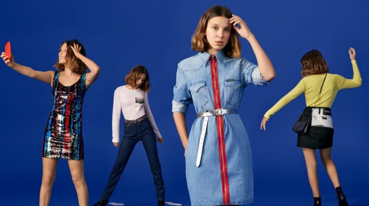 Millie Bobby Brown stars in Calvin Klein Holiday 2018 campaign