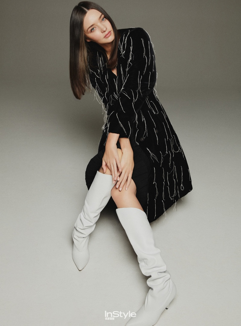 Miranda Kerr Takes On Chic Looks for InStyle China