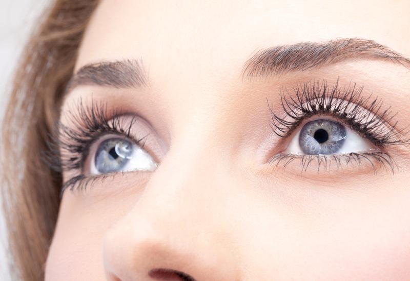 Model Closeup Eyes Beauty Eyelashes