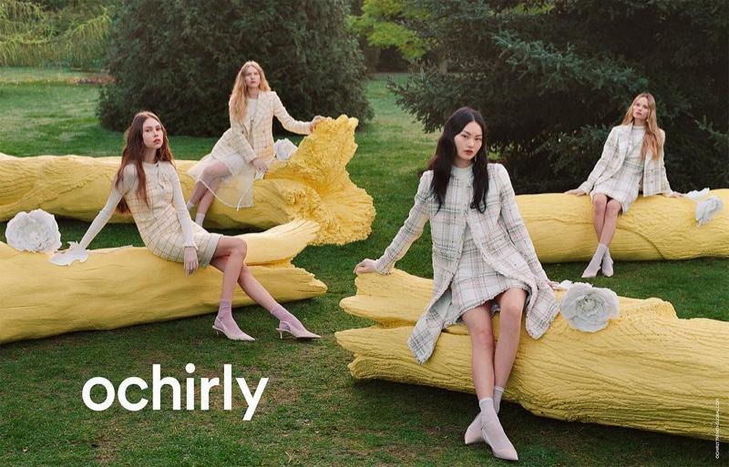 Ochirly unveils spring-summer 2019 campaign