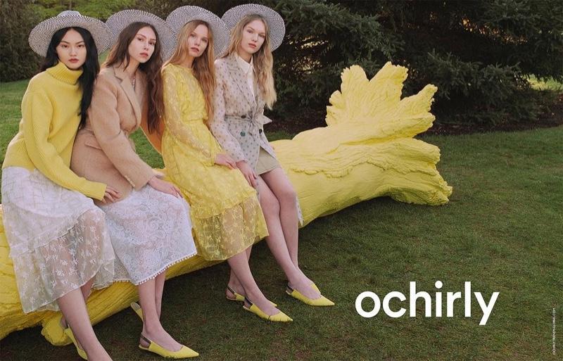 Ochirly sets spring 2019 advertising campaign at London's Kew Gardens