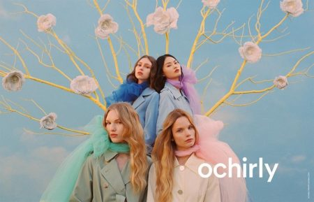Michal Pudelka photographs Ochirly spring-summer 2019 campaign