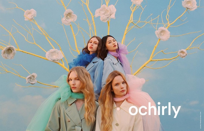 Ochirly Gets Dreamy With Spring 2019 Campaign
