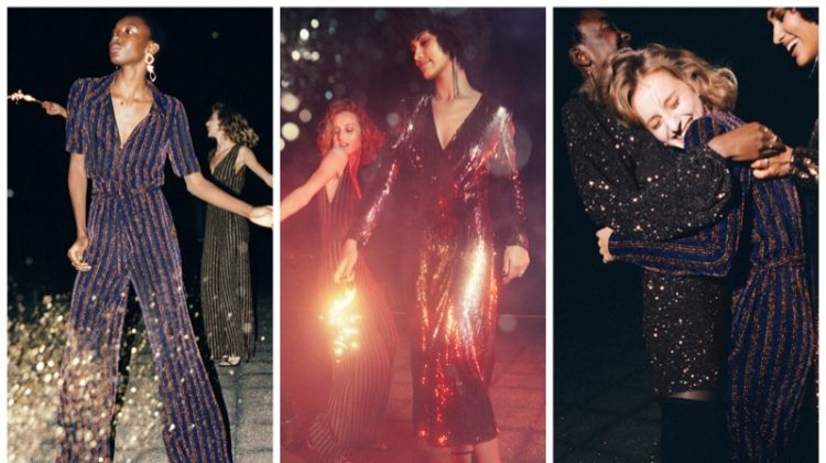 & Other Stories glitter & sequin dresses