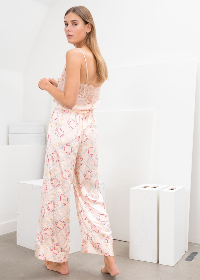 & Other Stories Silk Lounge Pants $119
