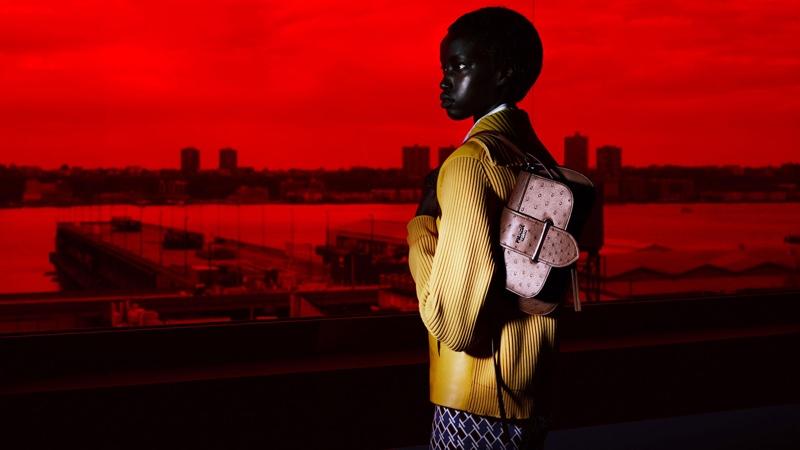 Anok Yai fronts Prada Augmented Sunset resort 2019 campaign