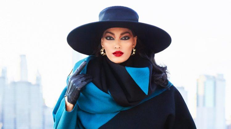Pritika Swarup Wears Glam 80's Style for Harper's Bazaar Arabia