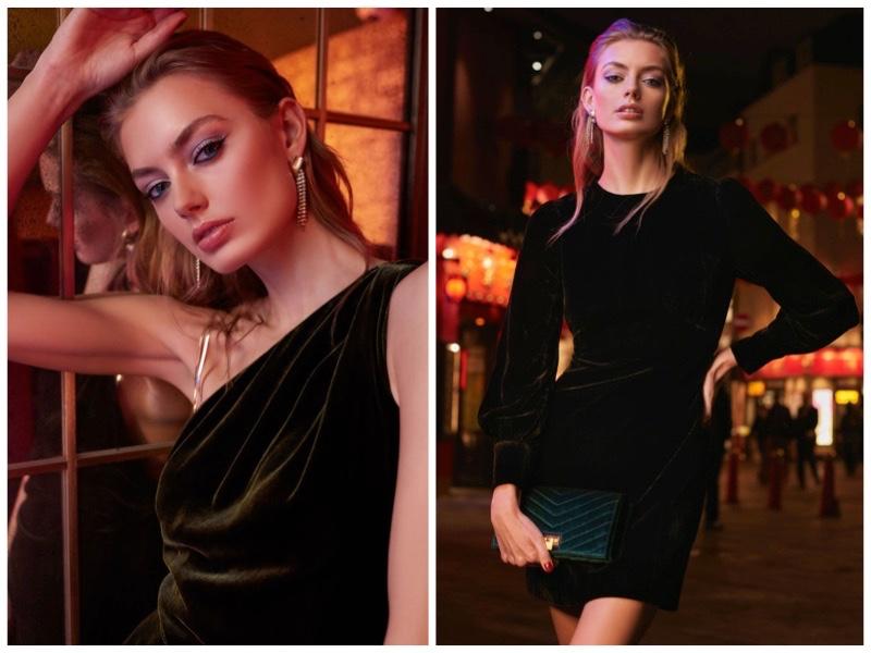 efb12a1e79b Dipped in Velvet  7 Night Out Dresses From REISS