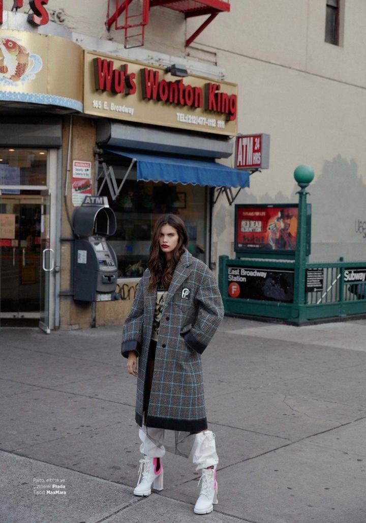 Sara Sampaio Graces the Pages of Harper's Bazaar Turkey