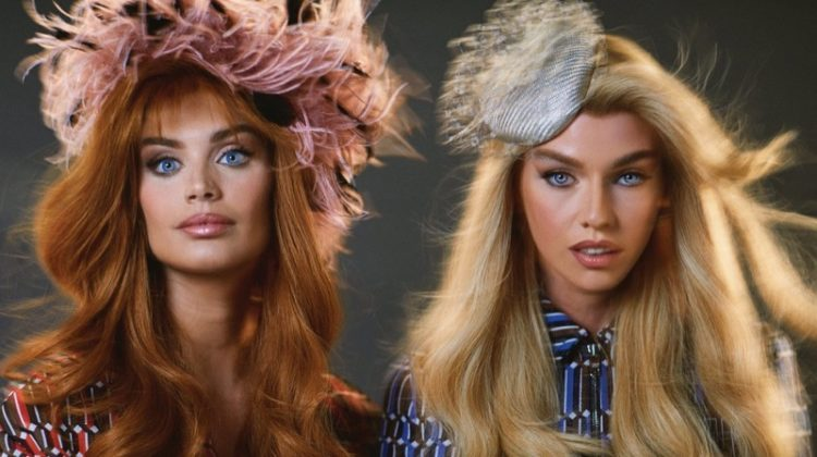 Sara Sampaio & Stella Maxwell Channel 90's Style for Paper Magazine
