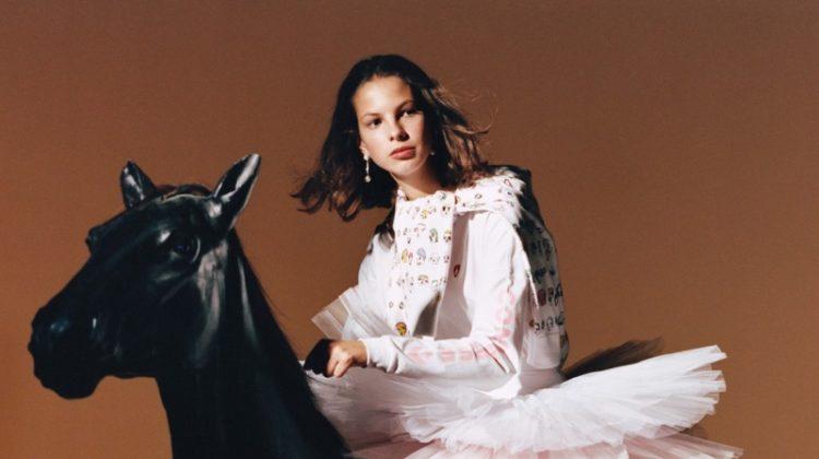 Margherita Boffetta stars in Shrimps x Converse campaign
