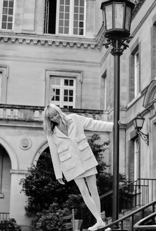 Soo Joo Park Models Chanel for Harper's Bazaar Russia