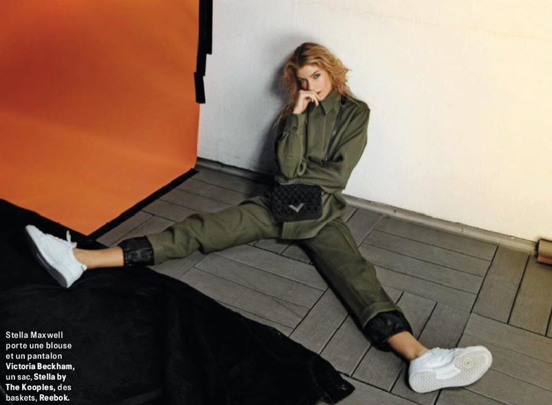 Stella Maxwell Wears Cool Girl Styles for Grazia France