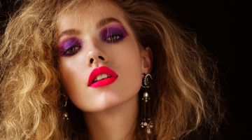 Tanya Kizko Turns Up the Glam Factor for Flaunt Magazine