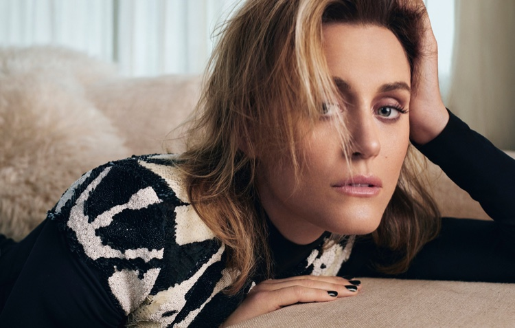 Actress Taylor Schilling gets her closeup in this shot
