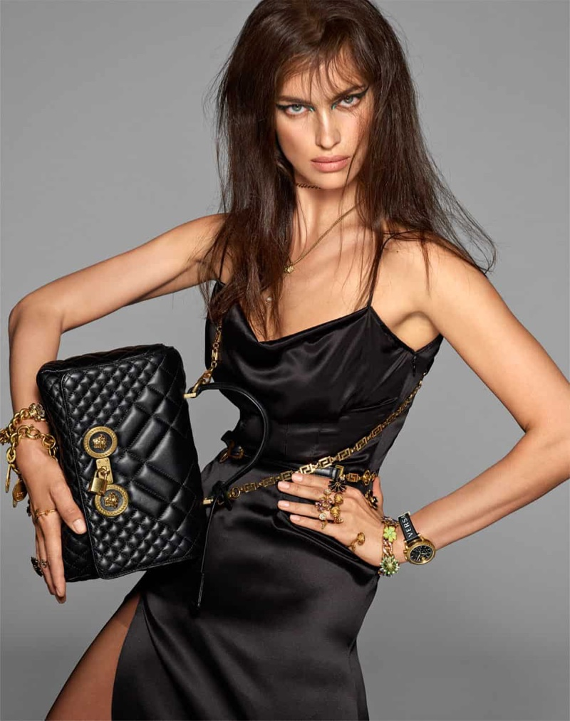 Irina Shayk fronts Versace spring-summer 2019 campaign