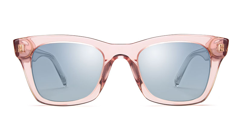 Warby Parker Harris Sunglasses in Rose Crystal $95