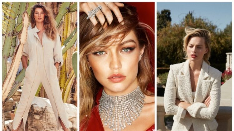 Week in Review | Gisele Bundchen's New Cover, Gigi Hadid for Messika, Margot Robbie in PORTER + More