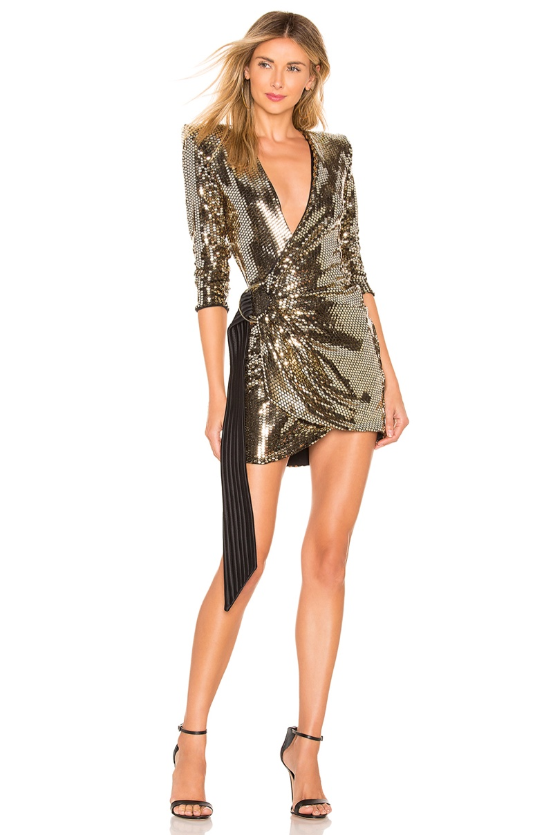 Zhivago The Key Dress in Gold $528