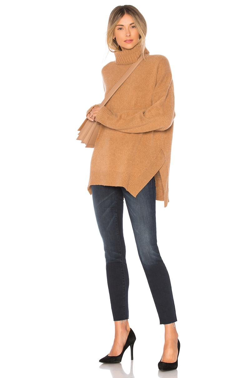 360Cashmere Amara Sweater in Vicuna $391