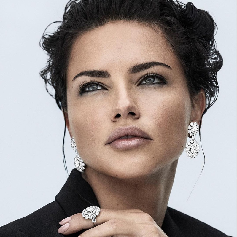 Supermodel Adriana Lima shows off high jewelry from Chopard Magical Setting collection