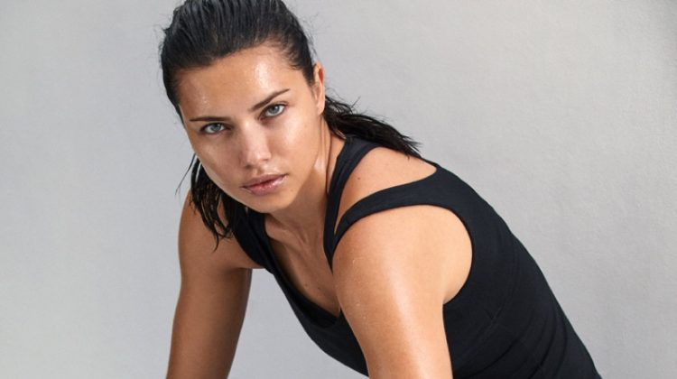 Adriana Lima stars in PUMA for Amazon campaign. Photo: Michael Schwartz