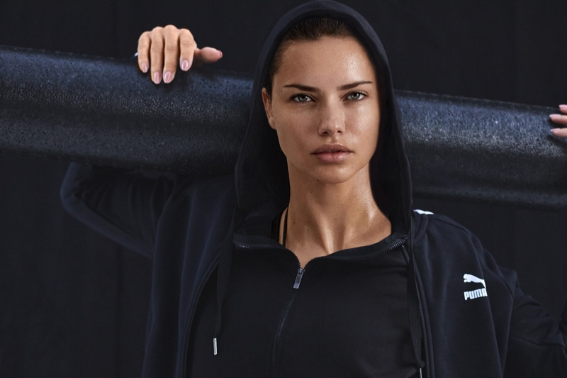 Michael Schwartz captures Adriana Lima in new PUMA for Amazon campaign.