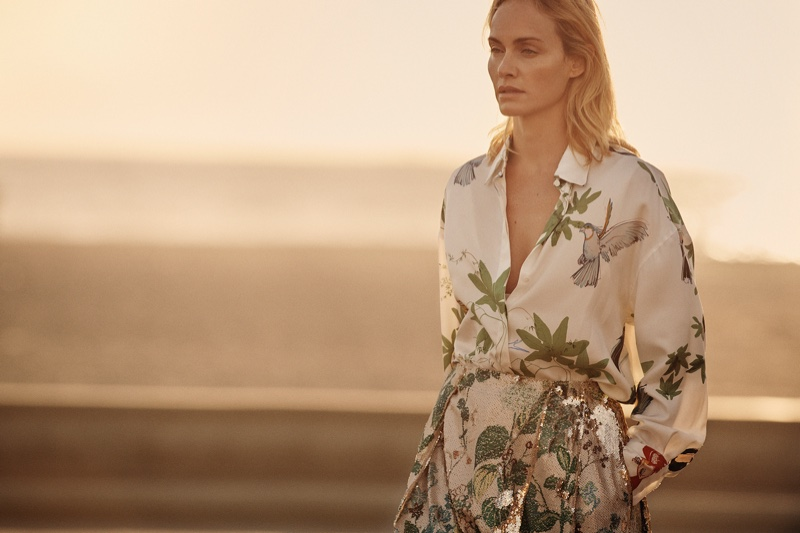 Agnona spotlights floral prints in its spring 2019 campaign