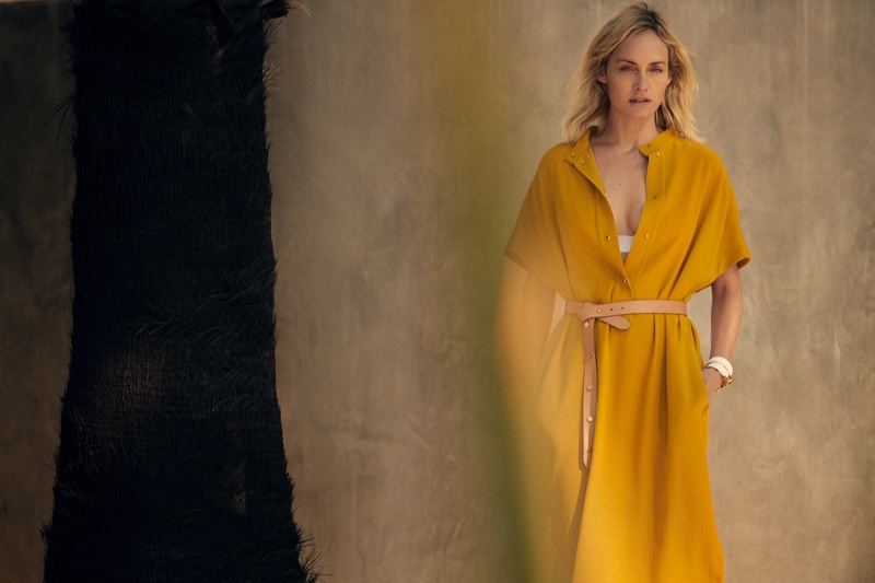 An image from the Agnona spring 2019 advertising campaign
